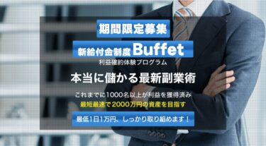 金子匡寛 新給付金制度Buffet(バフェット)