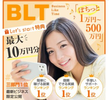 LIONEL CHUCK LIMITED「BLT(Business Like Time)」は稼げる?詐欺の可能性は?